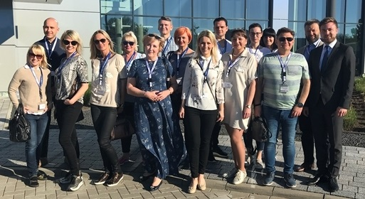 Dentists and depot staff from Lithuania: They work with many VOCO products in th