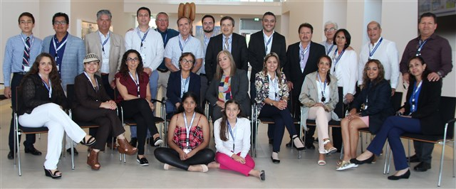 The wholesaler Onipo and its retail team from Mexico during their visit to VOCO