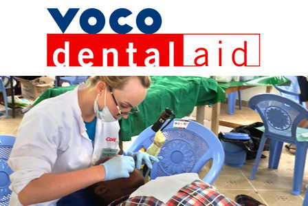 VOCO 支持志愿者在肯尼亚的援助活动。