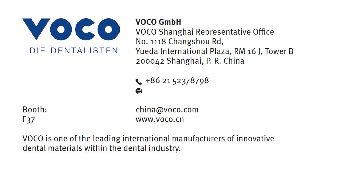 VOCO in Dentech China 2018