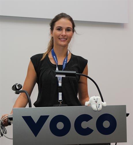 3. Platz: Viktoria Varga (Universität Jena).