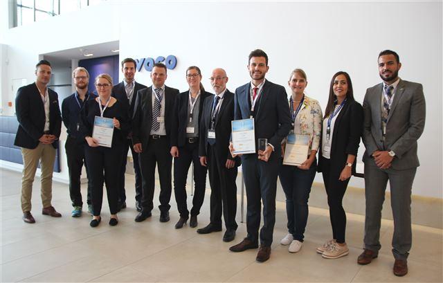 Herausforderung gemeistert: Die Teilnehmerinnen und Teilnehmer der VOCO Dental C