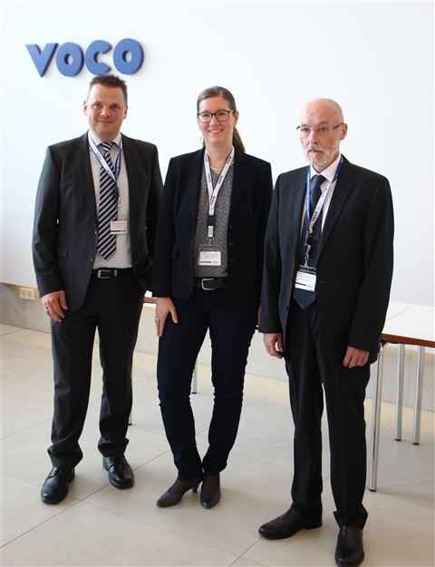 Die Jury: PD Dr. Michael Taschner (Universität Erlangen), PD Dr. Anne-Katrin Lüh