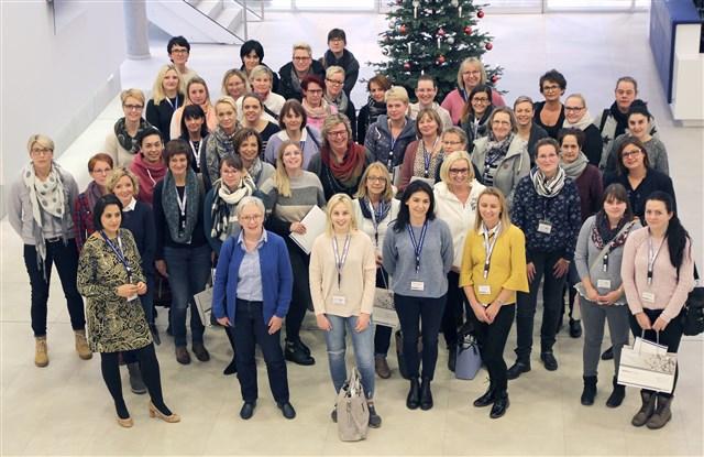 Die Teilnehmerinnen des Prophylaxe-Workshops bei VOCO.
