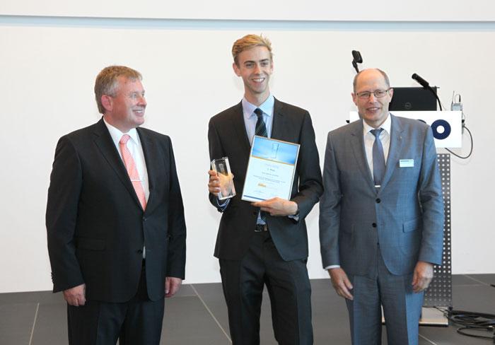 Abb. 3) 1. Platz: Herr Albrecht von Bülow (Universität Marburg) jeweils mit VOCO