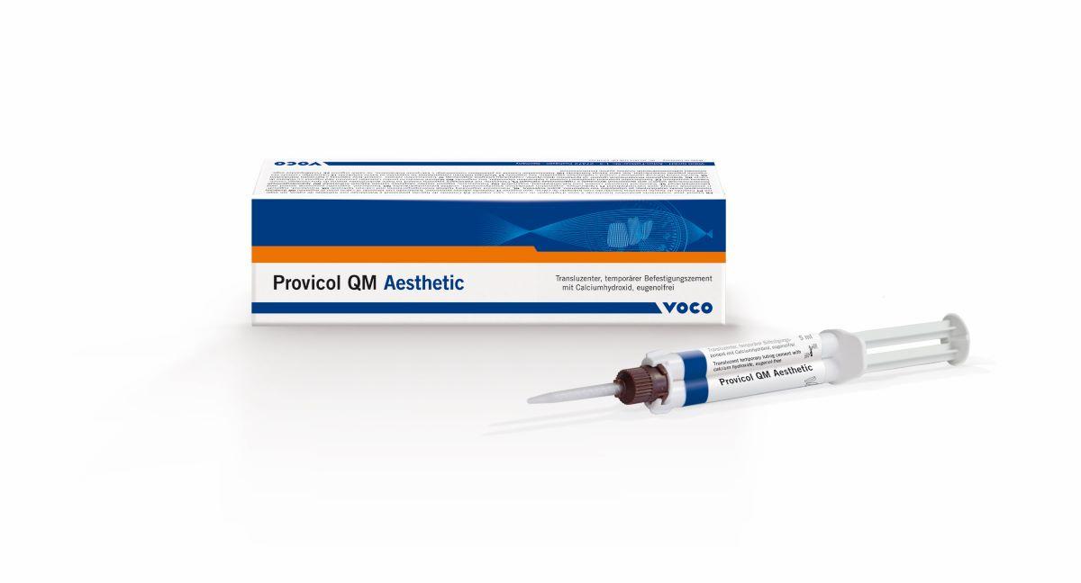 Mit Provicol QM Aesthetic bietet VOCO einen Zinkoxid-Zement der neuesten Generat