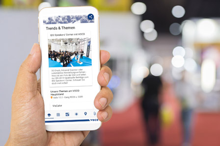 Stay fully informed with the VOCO app.