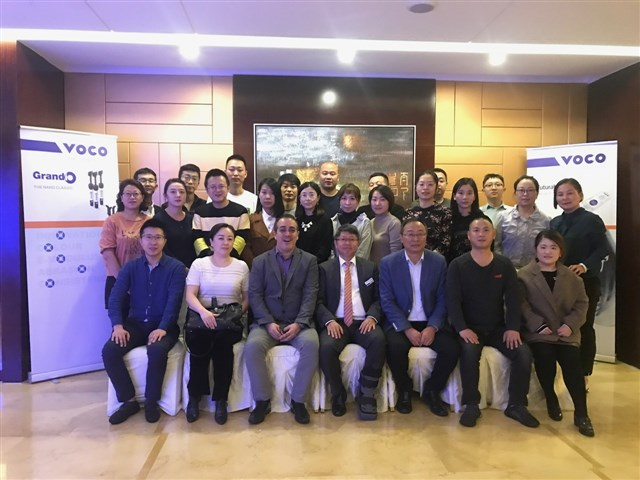 Participating dentists in Xi´an.