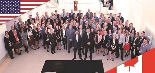 El equipo de ventas de Norteamérica de visita en la sede central: Olaf Sauerbier