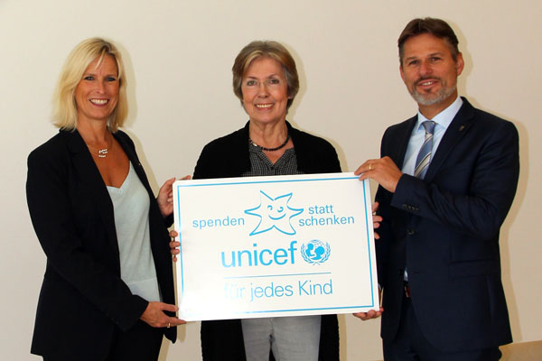 Un don, pas de cadeaux : Cette année, VOCO a décidé de faire un don à l'UNICEF a