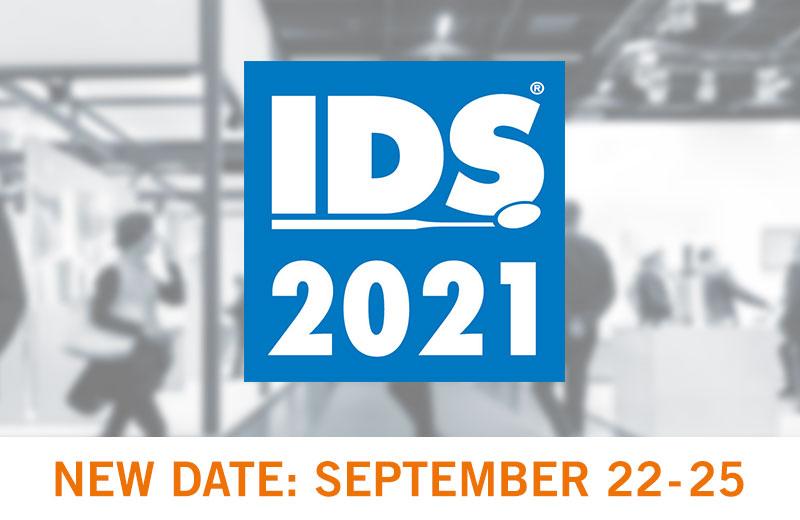 L'IDS se tiendra à Cologne du 22 au 25 septembre 2021.