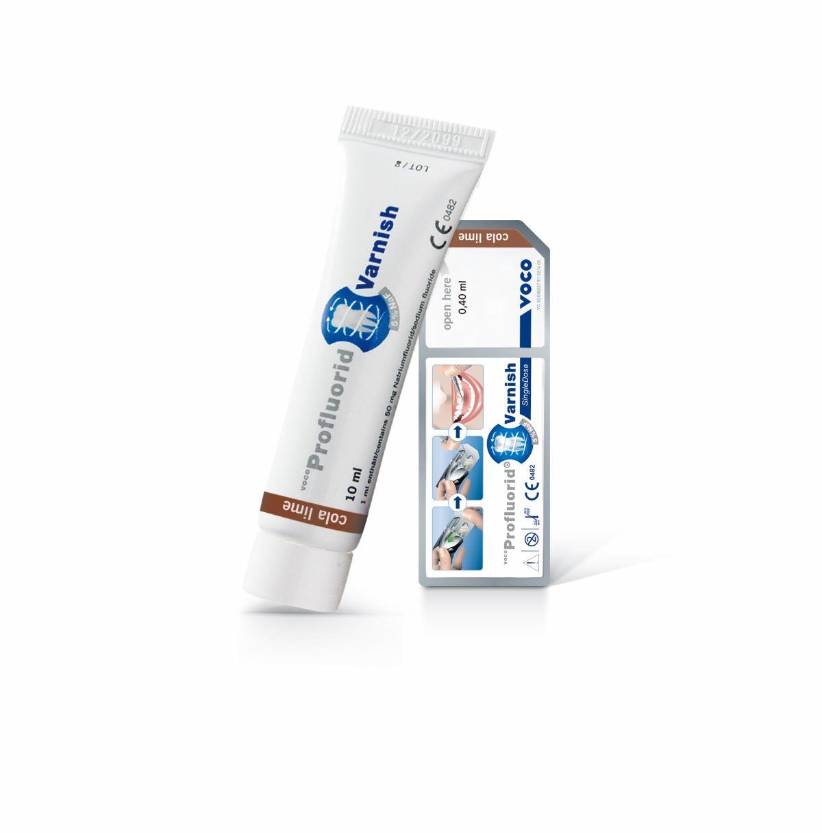 VOCO Profluorid Varnish est idéal pour le traitement de dents hypersensibles et