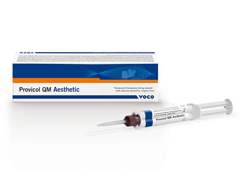 Avec Provicol QM Aesthetic, VOCO lance un ciment à l'oxyde de zinc de la dernièr