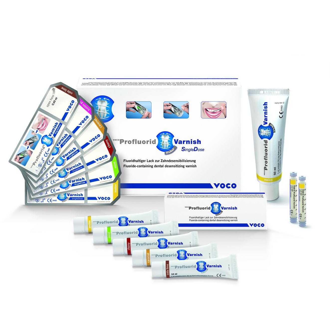 VOCO Profluorid Varnish is ideal for treating hypersensitive teeth.