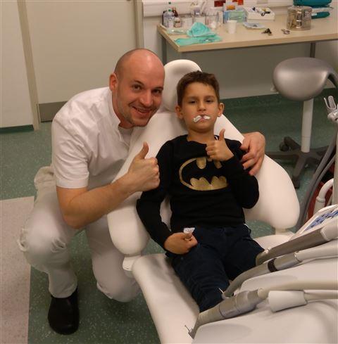 I suoi pazienti sanno di essere in fantastiche mani.