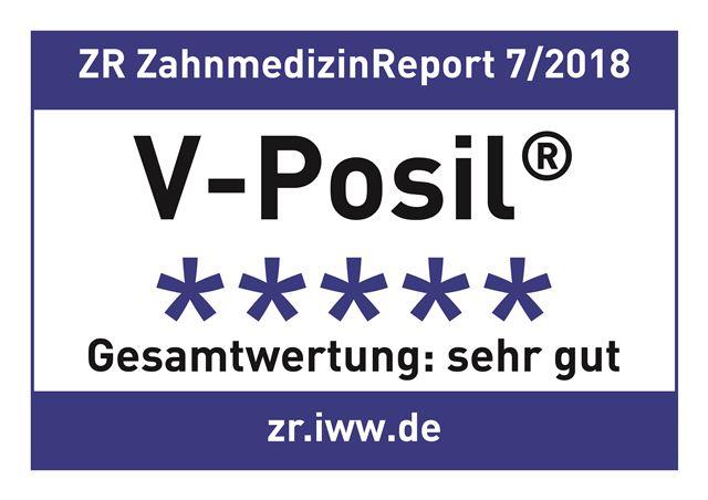 """I dentisti valutatori del rinomato Zahnmedizin Report hanno giudicato V-Posil """"m"""