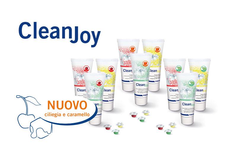 Da ora la pasta per la profilassi CleanJoy di VOCO è disponibile anche nei gusti