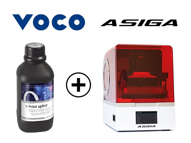 Współpraca VOCO / ASIGA