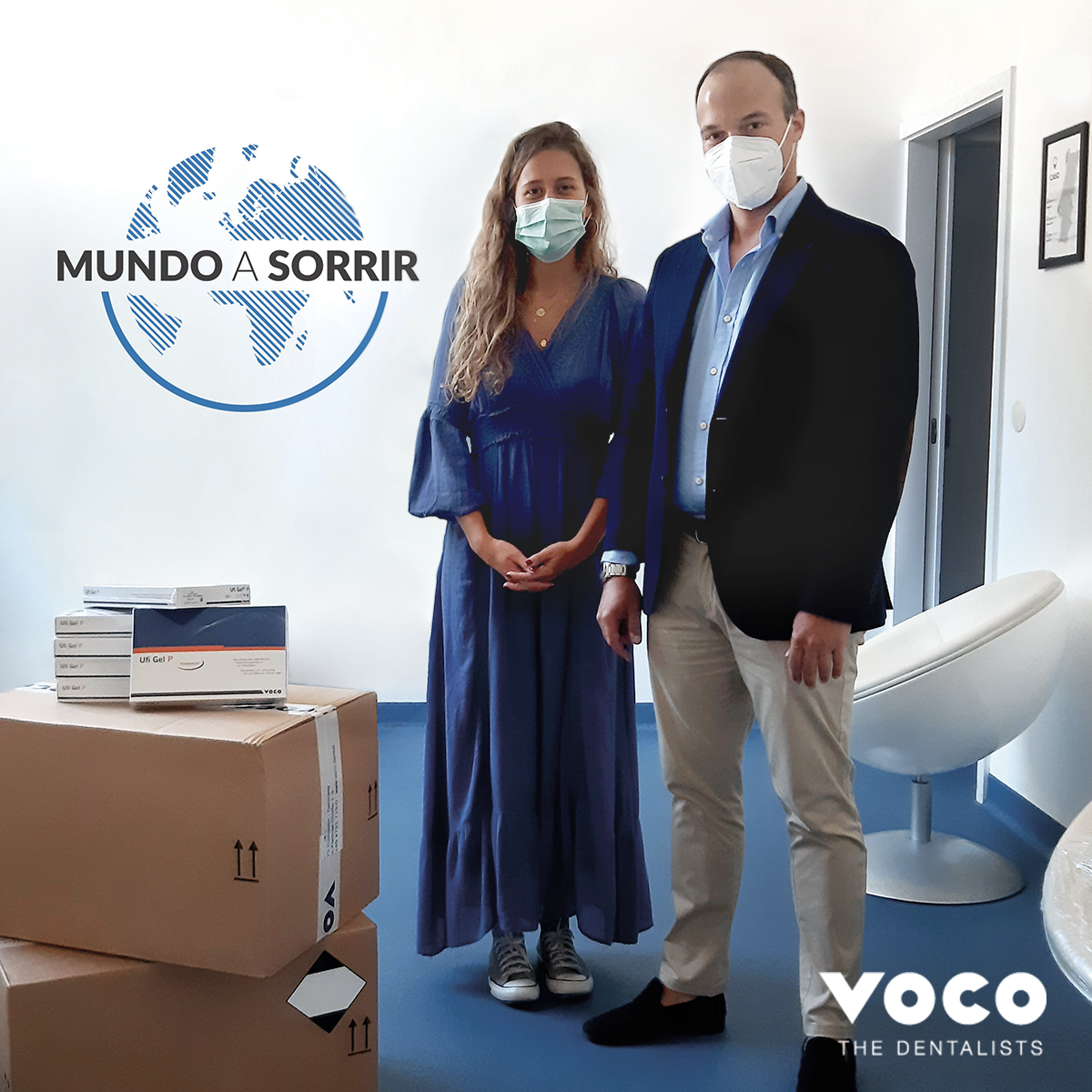 """Dra. Benedita Freitas Duarte (Coordenadora do Projeto """"Sorrisos de Porta em Port"""